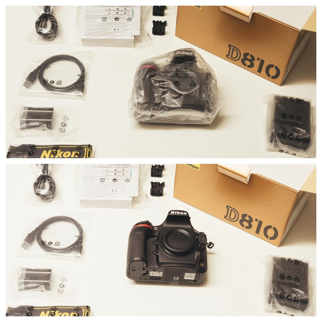 Nikon D810 Unboxing Time Lapse 3