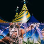 Big Top Circus at Night Flemington Melbourne. Pacific Ginger