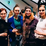 After show drinks with dancers at preview performance of Sydney Dance Company's 'Frame of Mind' at Southbank Theatre