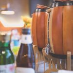 Four litre beer kegs. Gami Chicken and Beer Box Hill - Melbourne Food Blogger