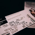 Tickets from Materials showing preview performance of Sydney Dance Company's 'Frame of Mind' at Southbank Theatre